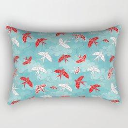 Origami Swallow Rectangular Pillow