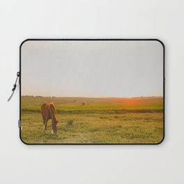 Summer Landscape with Horse Laptop Sleeve