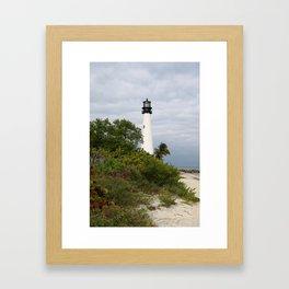 Bill Baggs - Cape Florida Light Framed Art Print