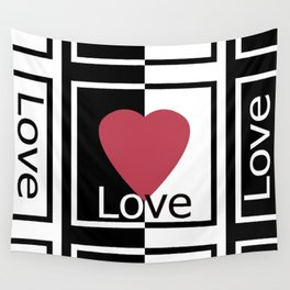 Love .Gift design. Wall Tapestry