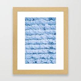 Rime Ice Framed Art Print