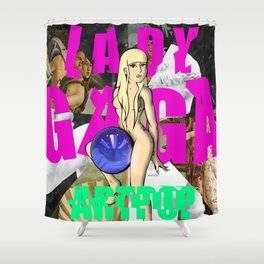 I'm A KOONS Shower Curtain
