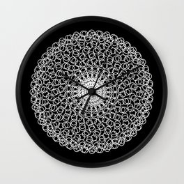 Circle Mandala Wall Clock