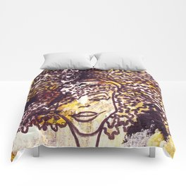 Curly Hair Comforters