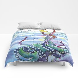 Bath Time Octopus Comforters