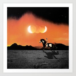 A Horse With No Name Pt.2 Art Print