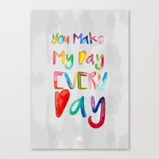 Everyday Love Canvas Print