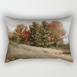 Her Autumn Meadow Rectangular Pillow