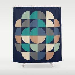 Gestalt Geometric Shower Curtain