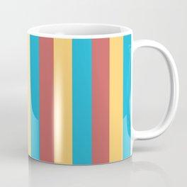 Primary Colors Stripes Coffee Mug