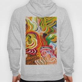 colored flow Hoody