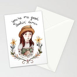 Good Lookin' Dame Stationery Cards