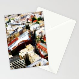 on top XII Stationery Cards