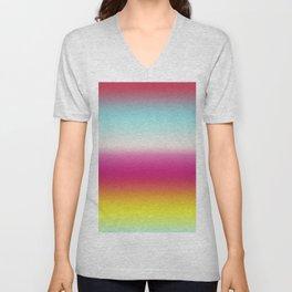 Happy Colors Unisex V-Neck