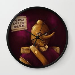 Earl of Lemongrab Wall Clock