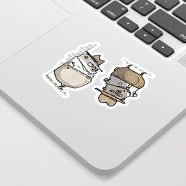 Ketch Fetchum, Pug Private Eye Sticker