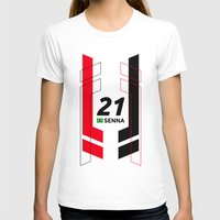 senna T-shirts featuring Formula E 2015/2016 - #21 Senna by MS80 Design