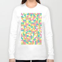 tetris Long Sleeve T-shirts featuring Tetris by Alisa Galitsyna