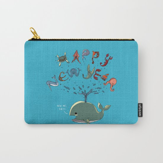 Happy New Year! Carry-All Pouch