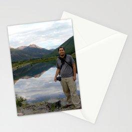 Photographer on Crystal Lake Stationery Cards