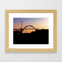 Newport Bay Framed Art Print