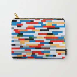 Multicolored Bright Building Bricks Pattern  Carry-All Pouch