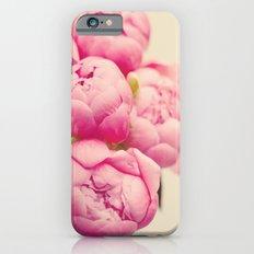 Blush Peonies  Slim Case iPhone 6s