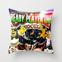 Official Ready Player One Poster Throw Pillow