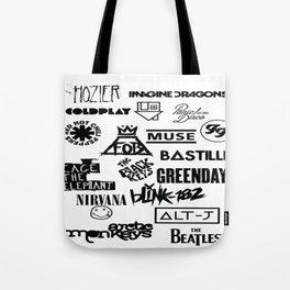 Alterative Bands Tote Bag