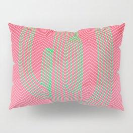 Deserted cactus - chevron pink Pillow Sham