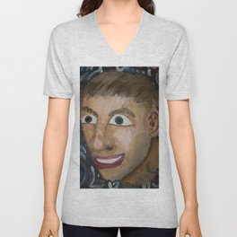 Self portrait Unisex V-Neck