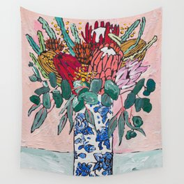 Australian Native Bouquet of Flowers after Matisse Wall Tapestry