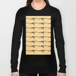 ak47 pattern logo Long Sleeve T-shirt