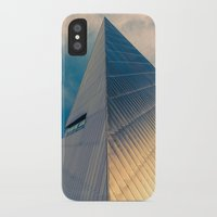 pyramid iPhone & iPod Cases featuring Pyramid by Cameron Booth
