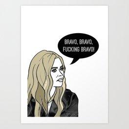 Bravo, Bravo Art Print
