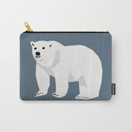 Polar Bear cute animals print for kids room decor boys and girls nursery Carry-All Pouch