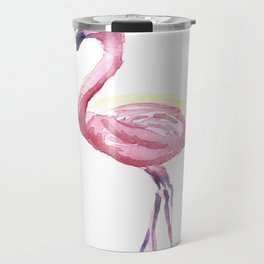 Full Flamingo Travel Mug