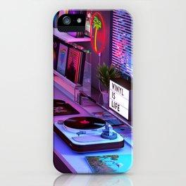 Vinyl is Life iPhone Case