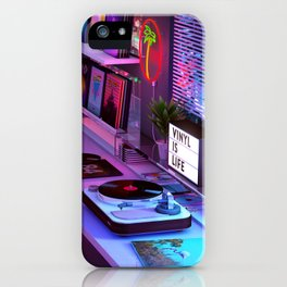 Vinyl is Life iPhone Case