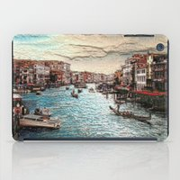 venice iPad Cases featuring Venice by MehrFarbeimLeben