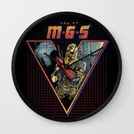 MGS V Wall Clock