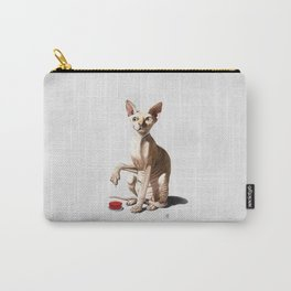 Cat-astrophe (Wordless) Carry-All Pouch