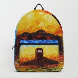 Time and Space Traveller Box in Twilight Zone Backpack