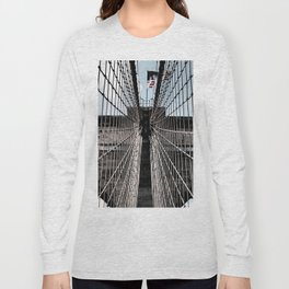 Iron Strung - Brooklyn Bridge Long Sleeve T-shirt