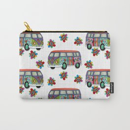Funky Camper Van Carry-All Pouch