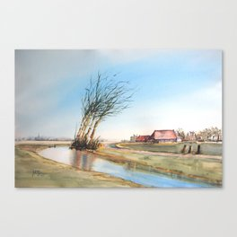 Friesland, The Netherlands Canvas Print