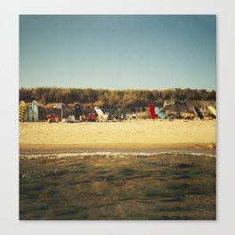 Montauk Surfboards Canvas Print