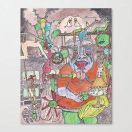 Extraordinary Machine Canvas Print