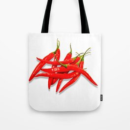 Spicy red pepper Tote Bag