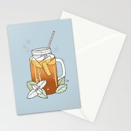 sweet tea Stationery Cards